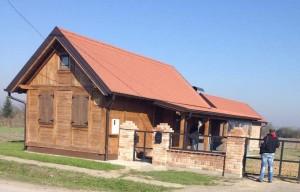 Wooden house MV Strošinci