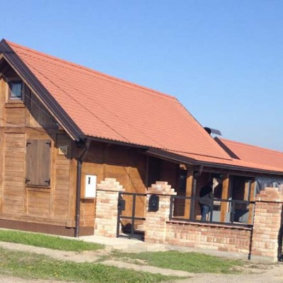 Wooden house MV Strošinci